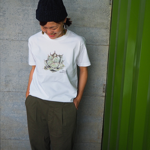 ボタニカル T シャツ 「AGAVE」
